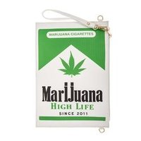 Fashion Marijuana Accent Detailed Shoulder Bag