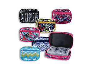 Magnetism Women's 8 Compartment Pill & Vitamin Case