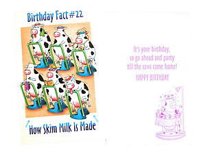 Till The Cows Come Home ~ Happy Birthday Card