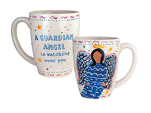A Guardian Angel is Watching Over You .... 12 Once Coffee Mug