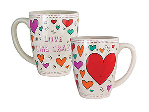 Love Like Crazy .... 12 Once Coffee Mug