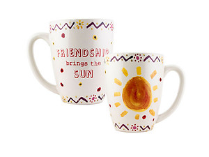 Friendship Brings the Sun .... 12 Once Coffee Mug