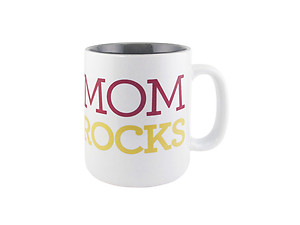 About Face Designs Mom Rocks Coffee Mug