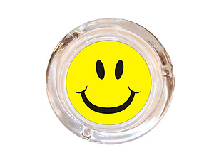 Stylish Decorative Ashtray ~ Smiley Face Ashtray ~ 4