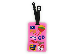 Lets Go Travel ~ Travel Suitcase ID Luggage Tag and Suitcase Label