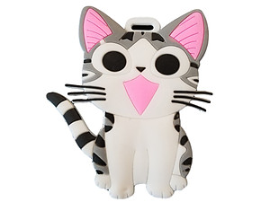 Travel Suitcase ID Luggage Tag and Suitcase Label - Kitty Cat