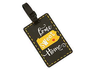 State of Pennsylvania ~ Travel Suitcase ID Luggage Tag and Suitcase Label