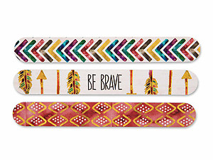 Be Brave Inspirational 3 Piece Emery Board Gift Set