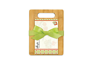 Garden Veggies Cutting Board Gift Set
