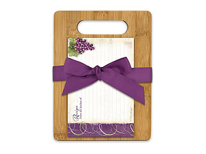 Vineyard Cutting Board Gift Set