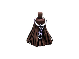 Coffee Tassel Keychain Made With 100% Genuine Leather