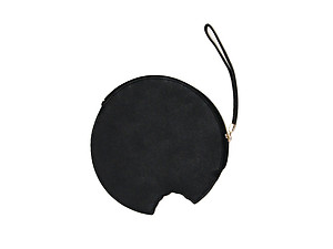 Women's Fun & Fashionable Coin Shaped Clutch Handbag Purse