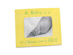 A Baby Is... Photo Frame