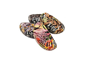 Floral & Tiger Print Hard Clamshell Eyeglass / Sunglass Case
