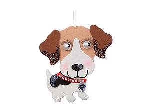 Beagle Holiday Ornament
