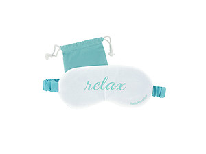 Hello Mello Luxurious Soft Sleep Mask with Matching Tote Bag