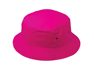 Pink Fun & Fashionable Unisex Kids Cotton Bucket Hat