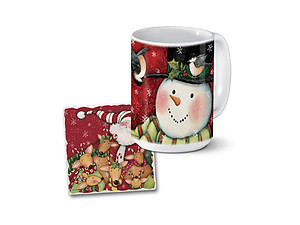 Simple Gifts Mug & Coaster Combo Set