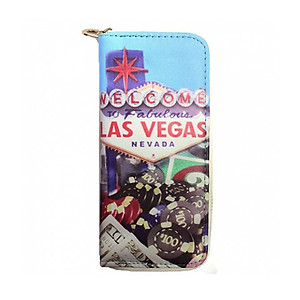 Michael Michelle 'Sassy Girl' Fashion Printed Wallet (4217-LV)