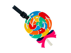 Lollipop ~ Travel Suitcase ID Luggage Tag and Suitcase Label
