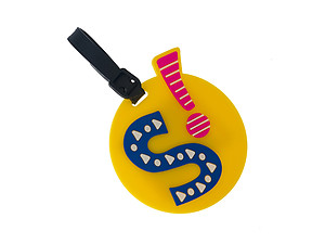 'S' initial ~ Travel Suitcase ID Luggage Tag and Suitcase Label