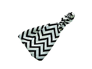 Black & White Chevron Headband