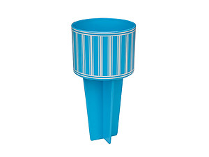 Aqua Blue Beach Buddy Cup Holder