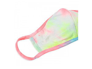 Tie-Dye Reusable T-Shirt Cloth Face Mask with Seam