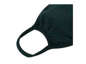 Hunter Green Reusable Solid Color T-Shirt Cloth Face Mask