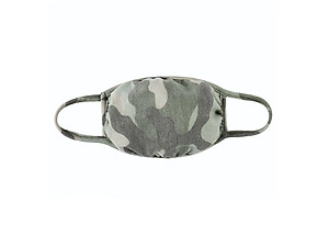 Moss Reusable Camouflage T-Shirt Cloth Face Mask