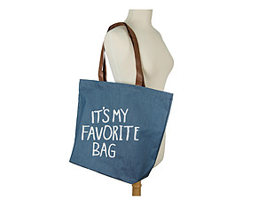 It's My Favorite Bag Canvas Tote Bag