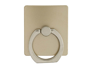 Gold Square Premium Universal Smartphone Mount Ring Hook