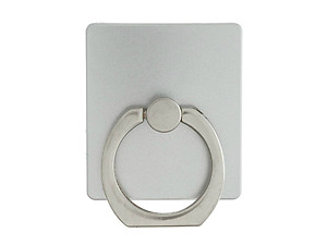 Silver Square Premium Universal Smartphone Mount Ring Hook