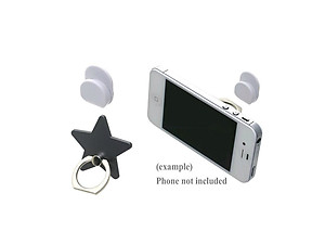 Gray Star Universal Premium Smartphone Mount Ring Hook