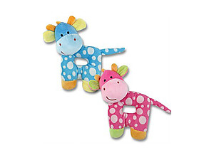 Baby Plush Giraffe Rattle, 7