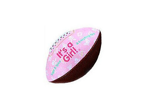 It's A Girl Football