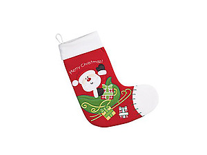 15 Inch Red Baby Christmas Stocking