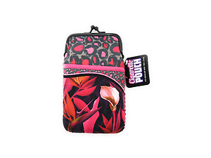 Colorful & Fun Neoprene Cigarette Pouch with Zipper Pocket ~ Style 125E