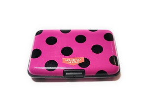 Colorful Aluminum Wallet Credit Card Holder ~ Style 610D