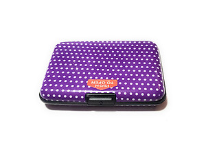 Colorful Aluminum Wallet Credit Card Holder ~ Style 614D