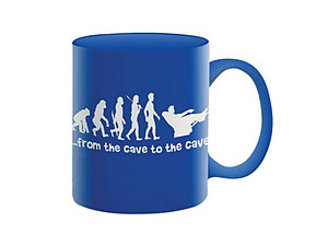 Man Cave Coffee Mug ~ From the Cave to the Cave