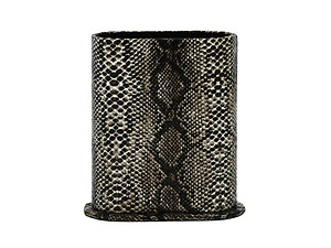 Black Snakeskin Design Desktop Eyeglass Holder