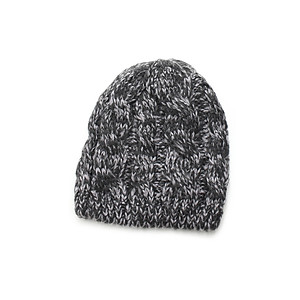 Light Gray Unisex Thick Winter Knit Beanie Hat Cap Headgear
