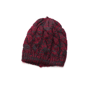 Red Unisex Thick Winter Knit Beanie Hat Cap Headgear