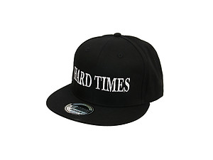 Hard Times Black Celebrity Style Snapback Hat Cap for Men and Women