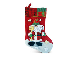 Santa Classic Luxury Christmas Stocking