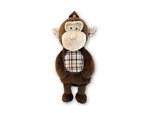Kids Monkey Stylish Plush Backpack