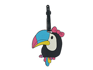 Toucan ~ Travel Suitcase ID Luggage Tag and Suitcase Label