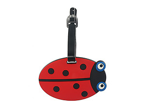 Ladybug ~ Travel Suitcase ID Luggage Tag and Suitcase Label