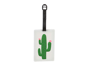 Cactus ~ Travel Suitcase ID Luggage Tag and Suitcase Label